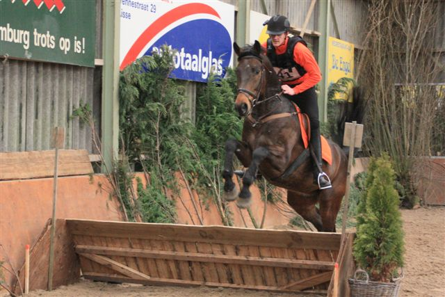 Indoor Eventing Jos vd Weiden